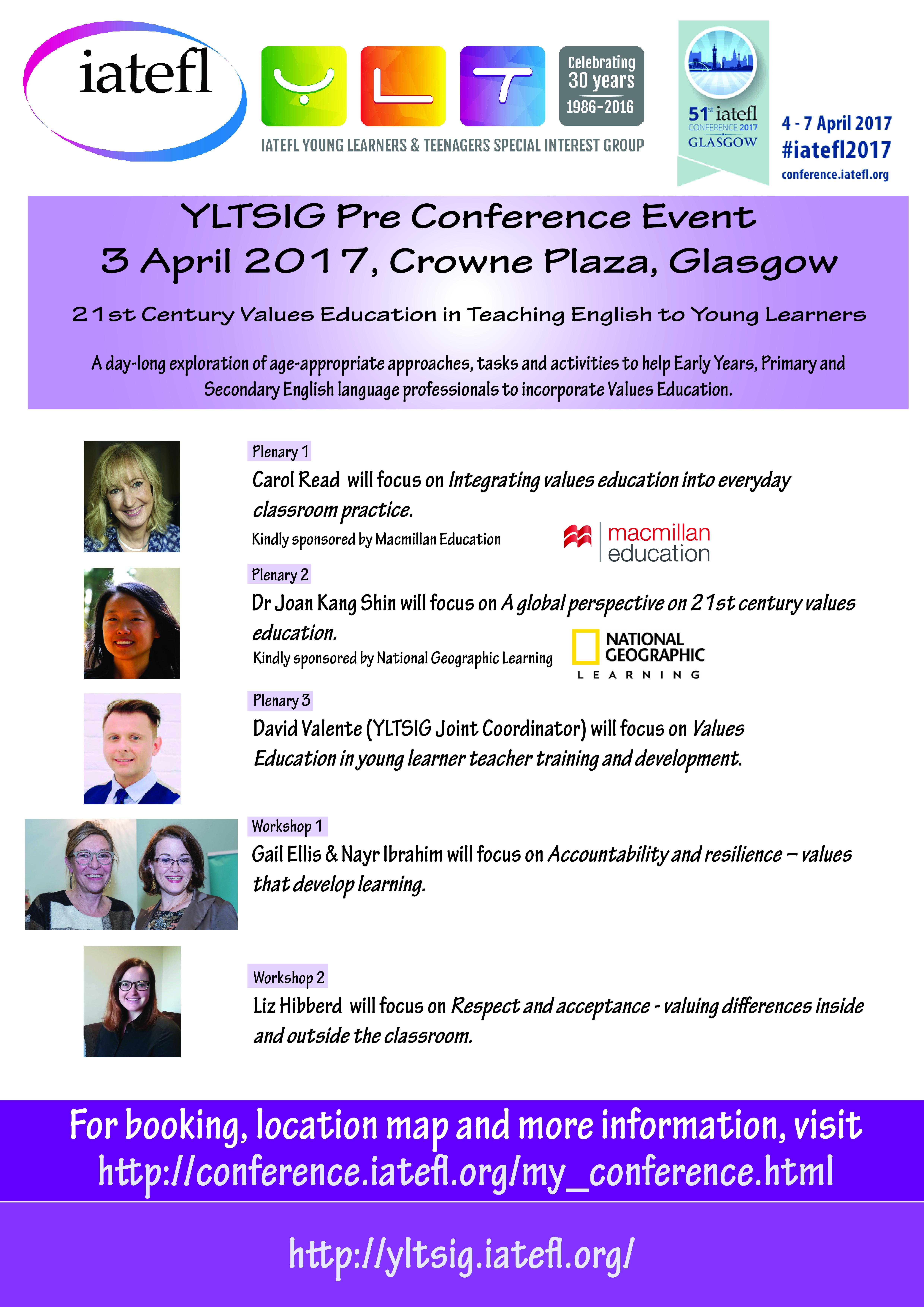 IATEFL Glasgow 2017 Pre-Conference Event