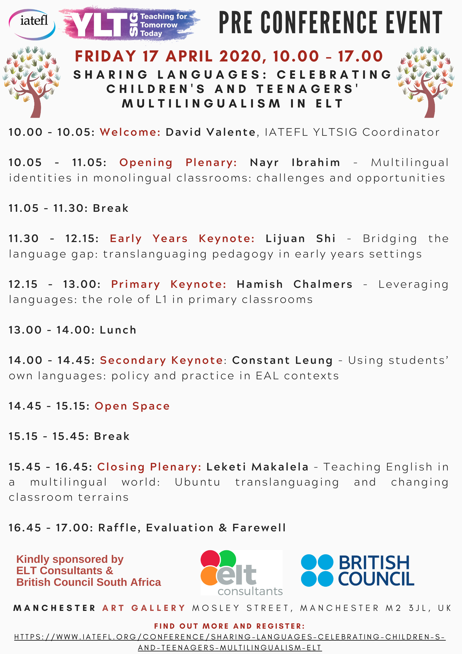 YLTSIG 2020 PCE Programme